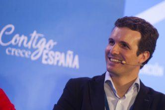 Pablo Casado, presidente del PP