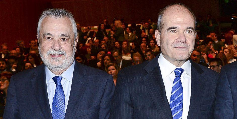 Manuel Chaves y José A. Griñán, expresidentes de la Junta de Andalucía