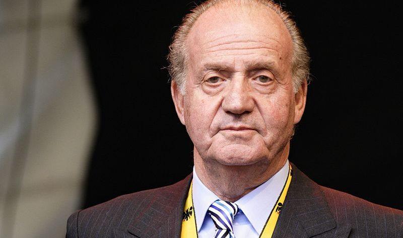El anterior rey, Juan Carlos I
